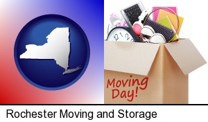 Rochester, New York - moving day