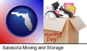 Sarasota, Florida - moving day